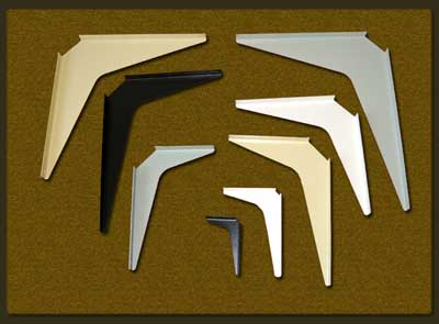 Workstation brackets countertop and shelf supports for Cantilever counter support